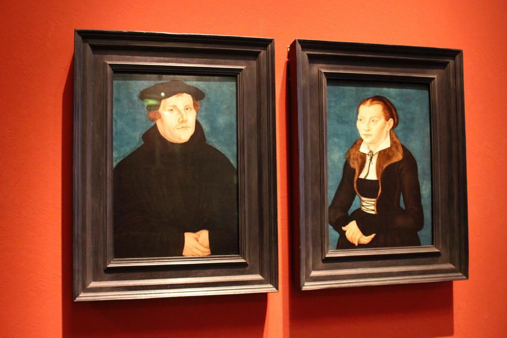Portrait von Martin Luther im Deutschen Historischen Museum in Berlin