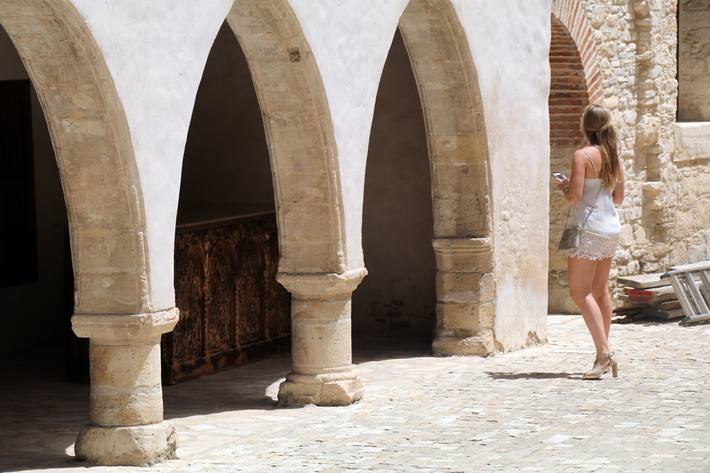 Kloster Stavros in Omodos auf Zypern