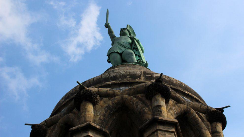 Das Hermannsdenkmal in Detmold ist einen Besuch wert