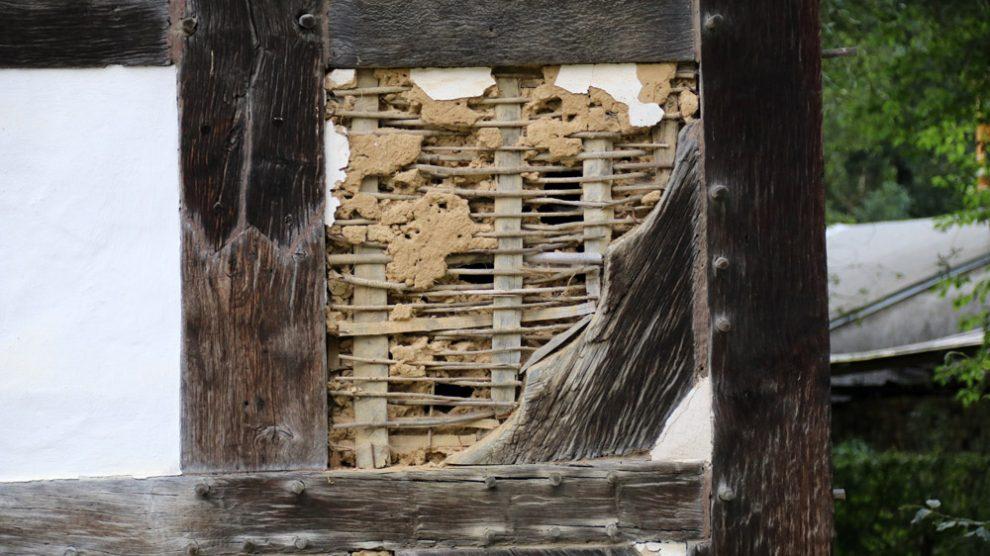 Die Details des Häuserbaus unserer Vorfahren eignen sich perfekt zum Fotografieren