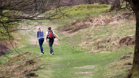 Bei schönem Wetter sind viele Wanderer unterwegs
