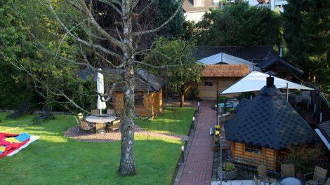 Das Landhotel Haus Weber hat auch eine Sauna und ein Schwimmbad