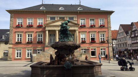 Das Rathaus in Detmold