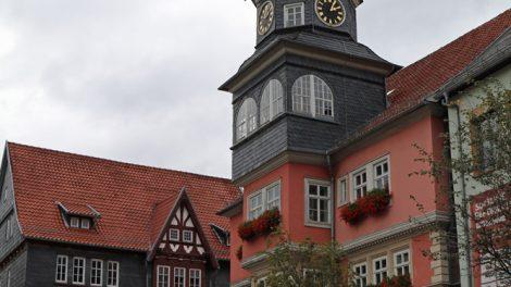 Das Rathaus in Eisenach