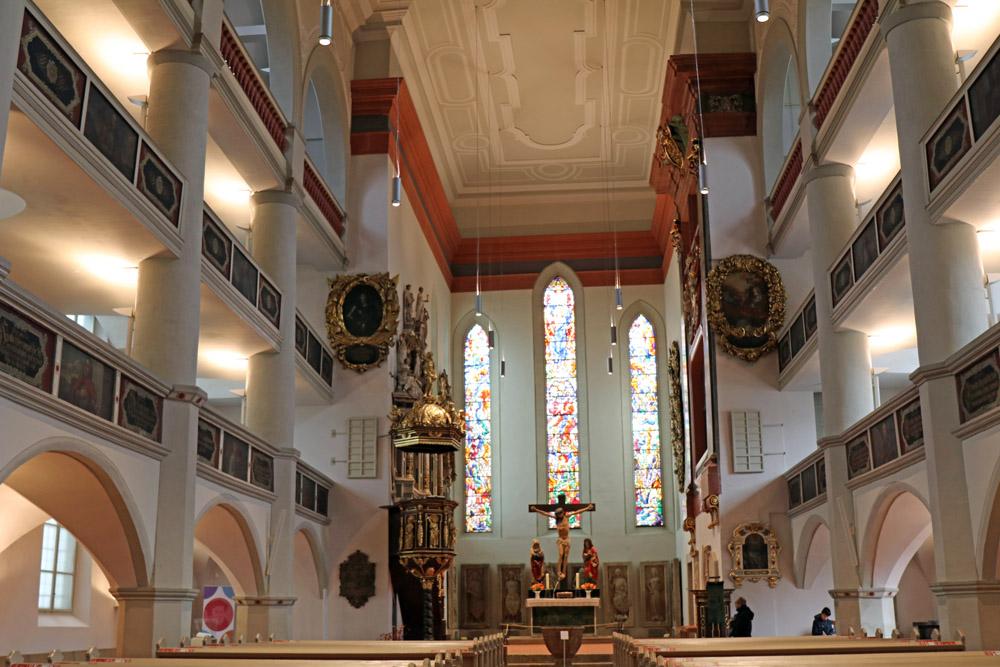Die Georgenkirche in Eisenach