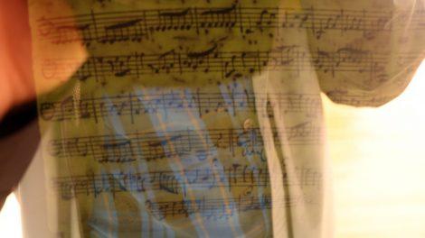 Ein Autograph von Bach im Bachhaus in Eisenach