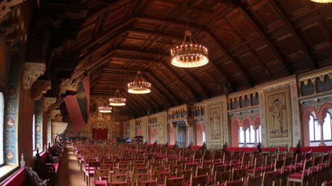Prachtvolle Räume gilt es auf der Wartburg zu entdecken