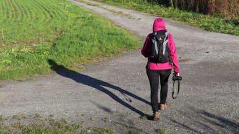 Wandern auf dem Lutherweg in Thüringen wird nicht langweilig