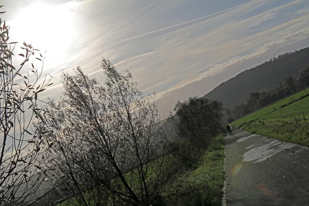 Später Nachmittag in der Nähe von Creuzburg