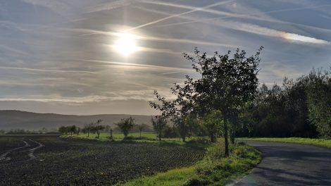Bei einer Wanderung auf dem Lutherweg ergeben sich immer wieder faszinierende Ansichten