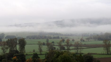 Morgennebel über Thüringen