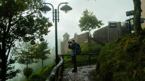 Im Nebel ist es an der Wartburg besonders mystisch. Foto: www.sophias-welt.de