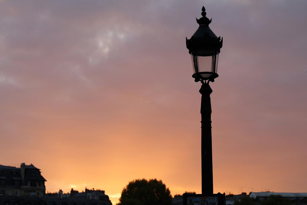 Paris im Herbst ist herrlich ruhig