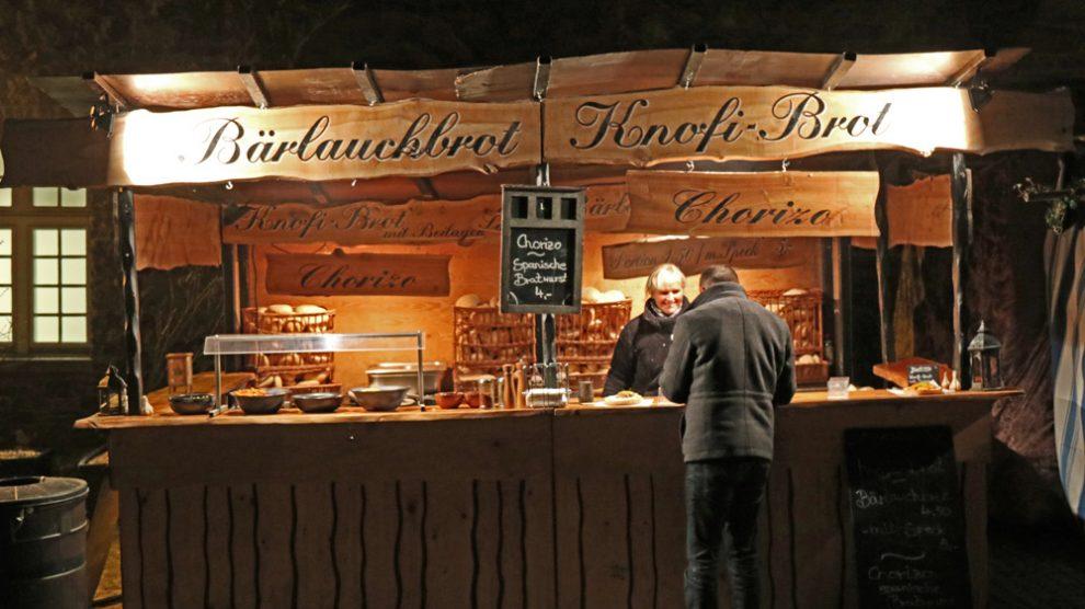 Mittelalter Weihnachtsmarkt Schloss Broich in Mülheim Ruhr