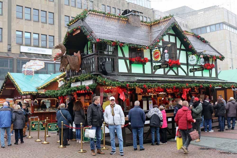 Essen Weihnachtsmarkt.Internationaler Weihnachtsmarkt Essen