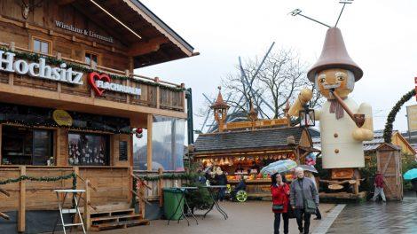 Weihnachtsmärkte im Ruhrgebiet: Weihnachtsmarkt am Centro Oberhausen