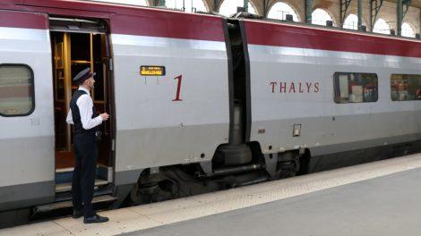 Das Personal im Thalys ist sehr freundlich