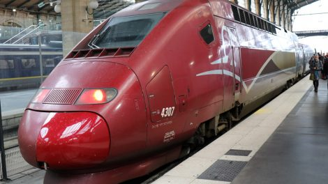 Der Thalys in Paris