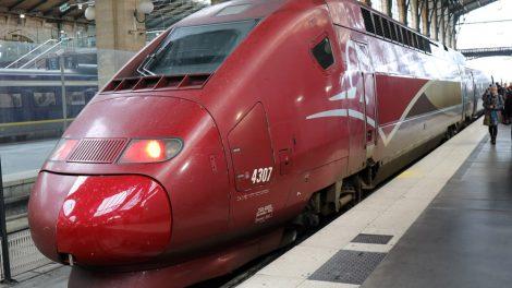 Der Thalys in Paris