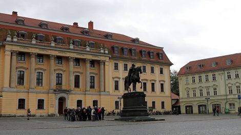 Reiterstatue in Weimar