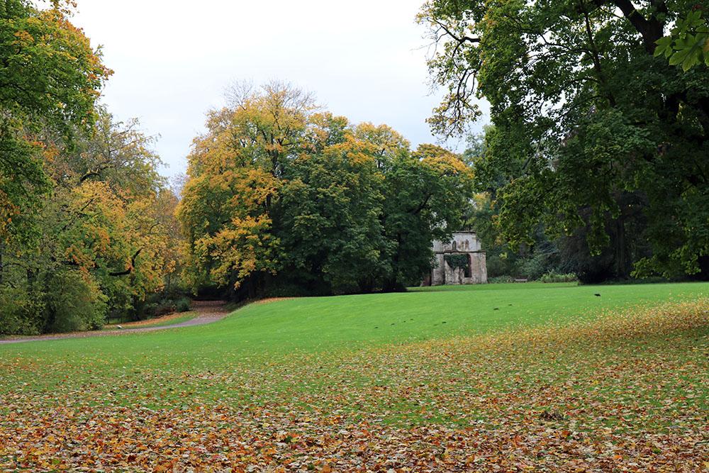 Der Park an der Ilm in Weimar