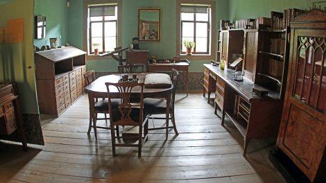 Goethe Wohnhaus in Weimar Arbeitszimmer