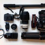Meine empfohlene Fotoausrüstung mit Objektiven und Kameras für die Reisefotografie