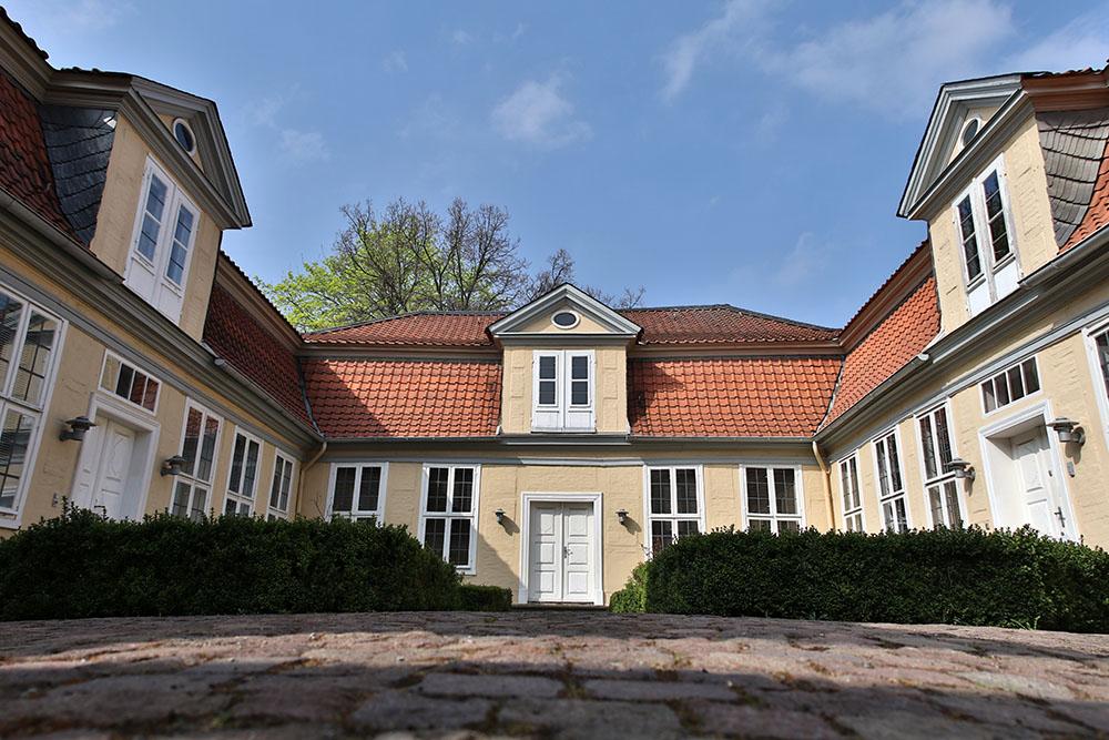 Das Lessinghaus in Wolfenbüttel in Niedersachsen