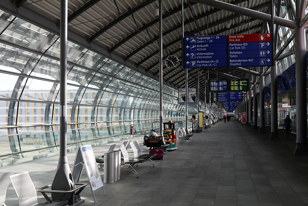 Flughafen Leipzig Halle Terminal
