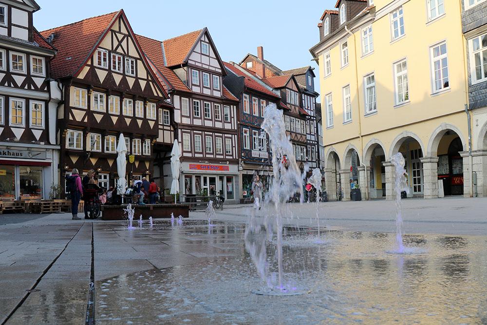 Springbrunnen in der Altstadt von Wolfenbüttel