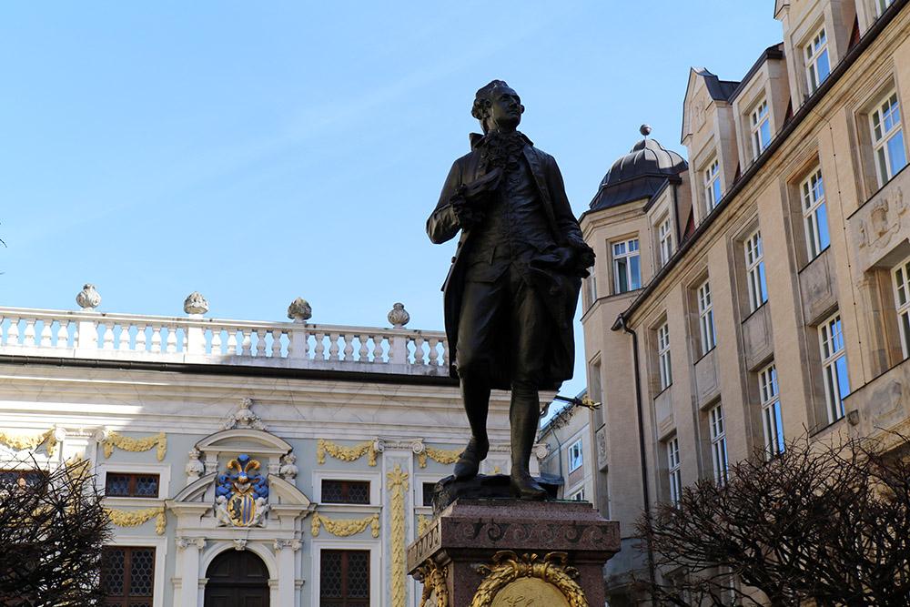 Leipzig Goethe Denkmal