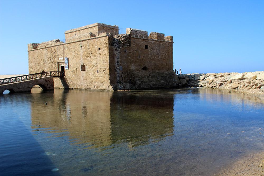 Funfacts über Zypern: Die Stadt Paphos mit ihrem Kastell ist Weltkulturerbe der UNESCO