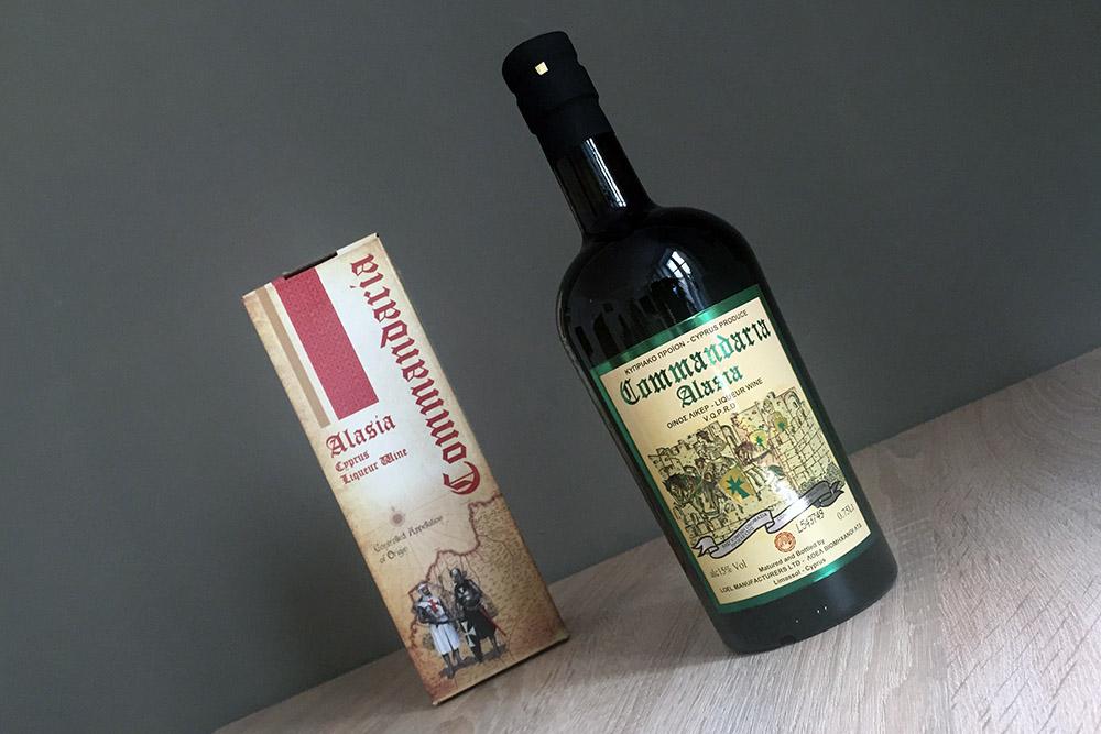 Commandaria Wein auf Zypern