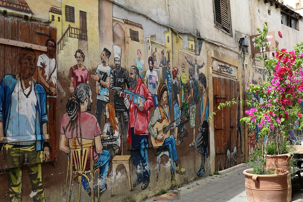 Streetart in Nikosia auf Zypern