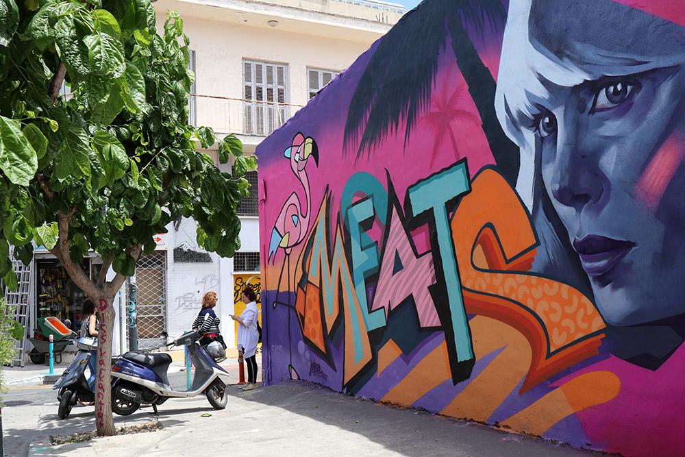 Streetart in Limassol auf Zypern