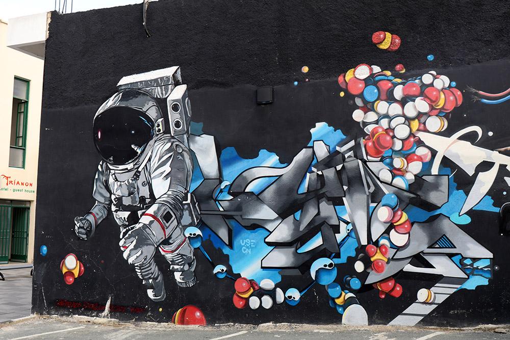 Streetart in Paphos auf Zypern