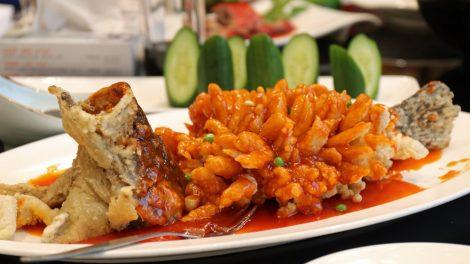 Essen in China Eichhörnchenfisch