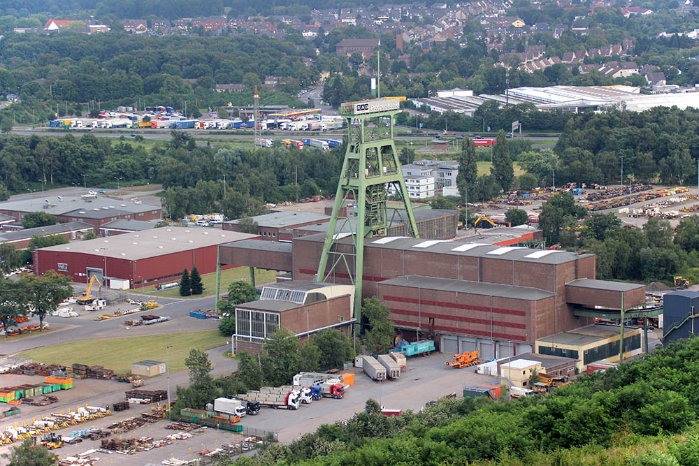 Zeche Bergwerk Prosper Haniel im Ruhrgebiet