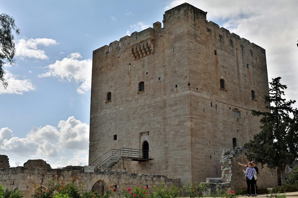 Die Burg Kolossi ist ein eindrucksvolles Zeugnis aus dem Mittelalter auf Zypern