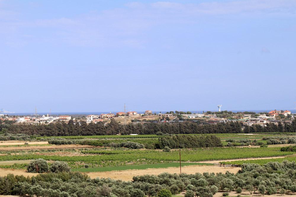 Von der Burg Kolossi auf Zypern hat man eine hervorragende Aussicht