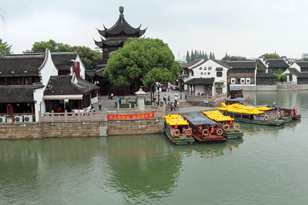 Eine Fahrt auf dem Kaiserkanal in Suzhou ist ein Erlebnis