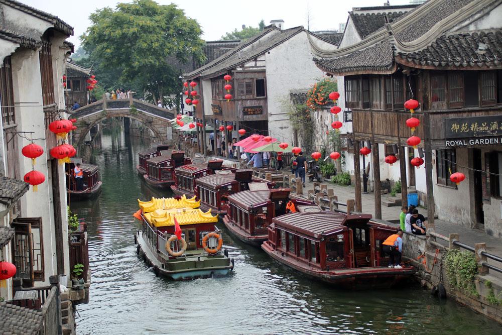 Es verwundert kaum, dass Suzhou auch das Venedig Chinas genannt wird