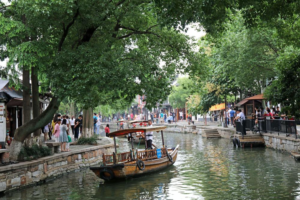 Geheimtipp für Shanghai Ausflüge: Zhujiajiao wird auch das Venedig Shanghais genannt