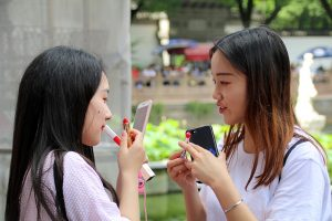 Fotoparade China Lippenstift