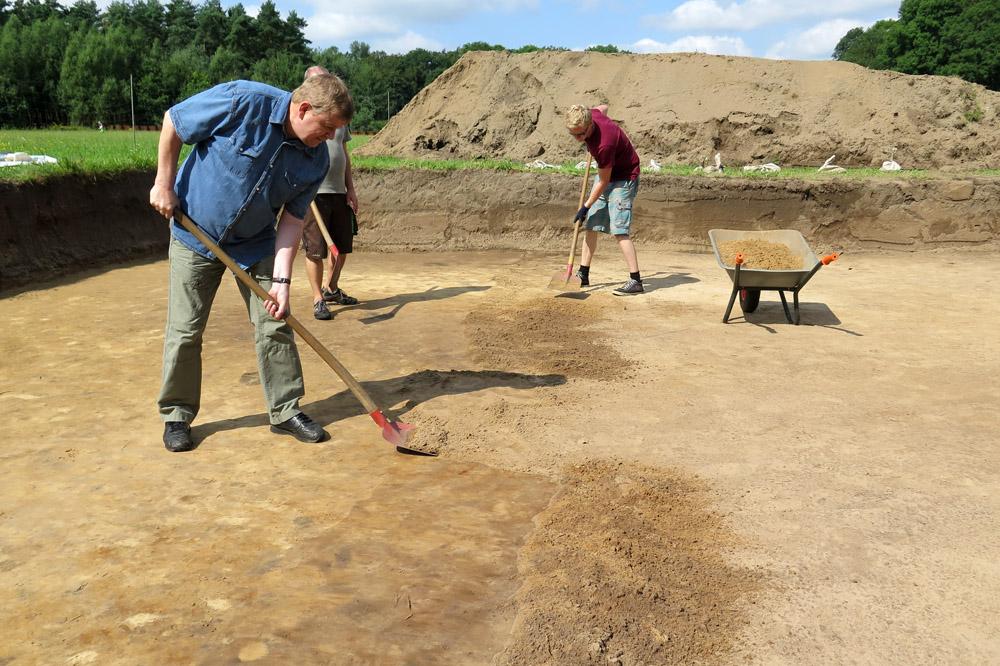 Immer wieder kann man auch den Archäologen im Varusschlacht Museum in Kalkriese bei den Ausgrabungen über die Schulter schauen