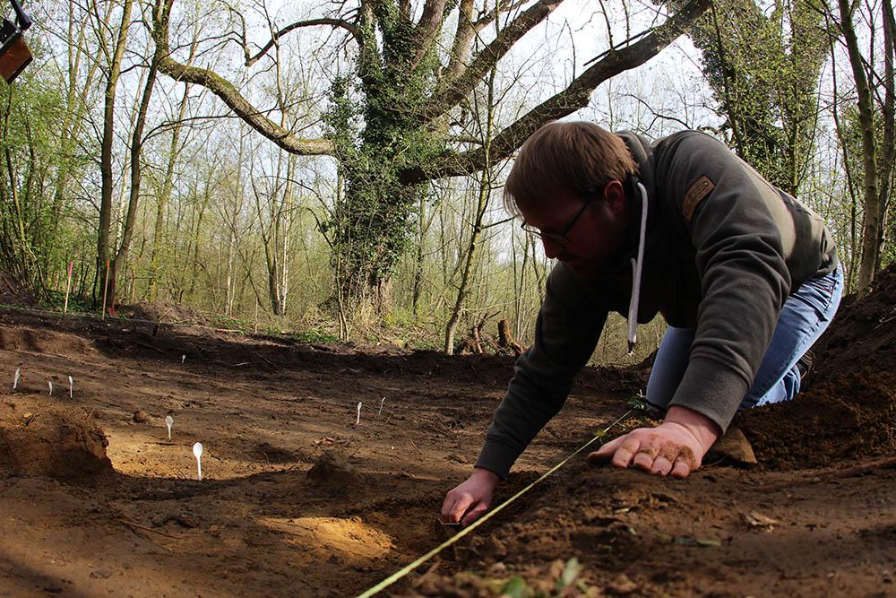 Die Archäologen bei den Ausgrabungen am Ort der Varusschlacht in Kalkriese bei Osnabrück zu beobachten, kann spannend sein
