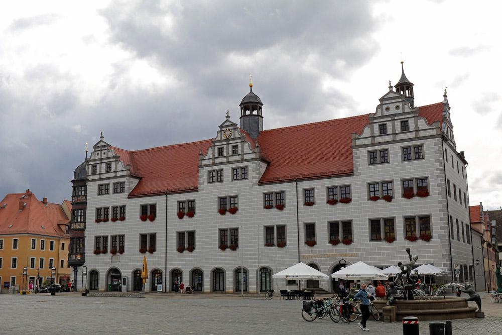 Wunderschön ist das Rathaus in Torgau