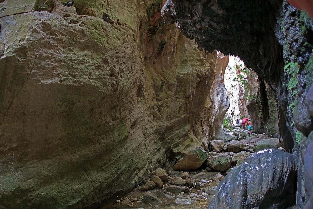 Die Avakas Schlucht auf der Akamas Halbinsel auf Zypern