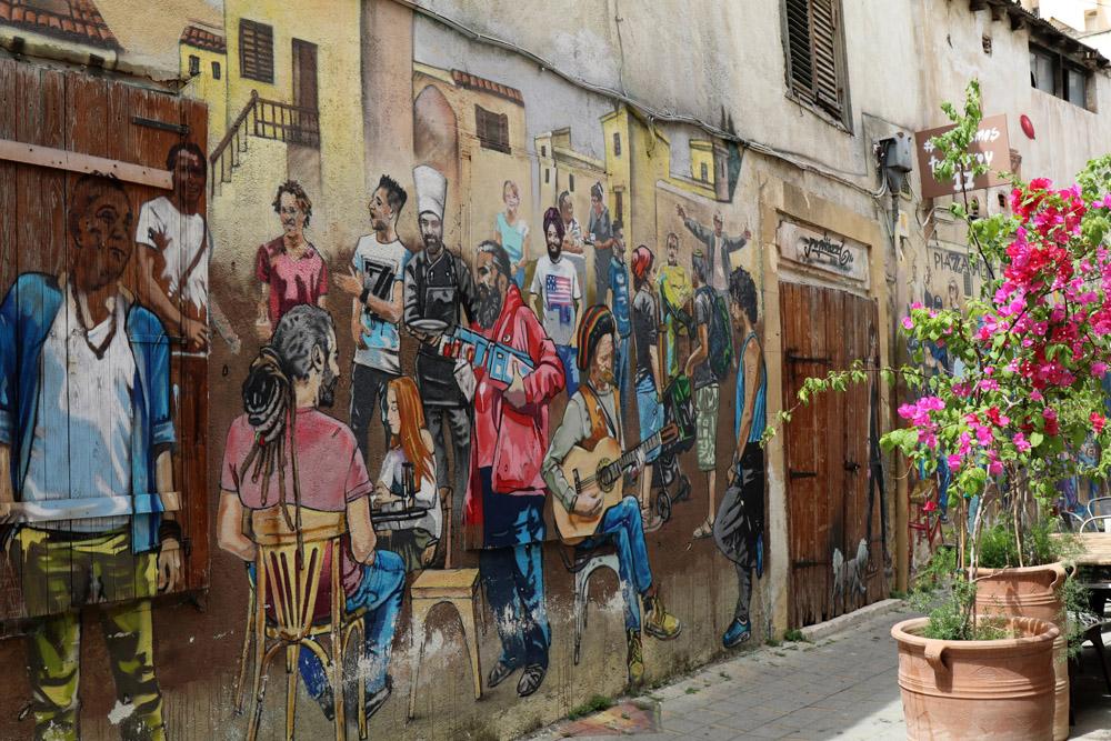 Streetart schlägt in Nikosia die Brücke zwischen Tradition un Moderne