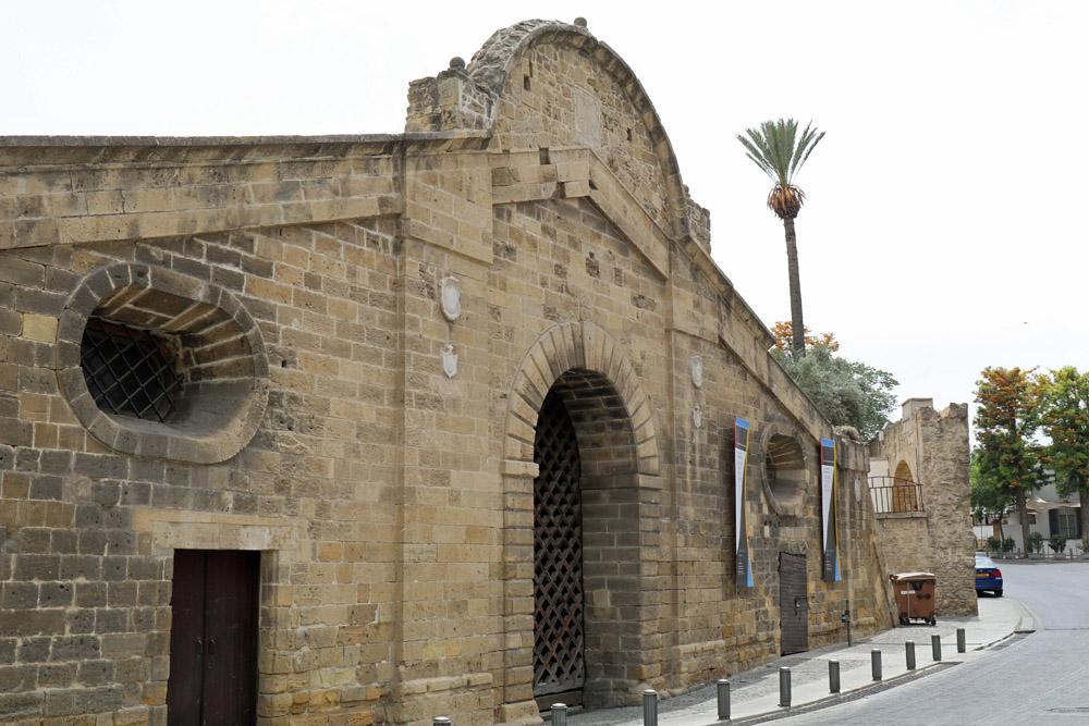 Mit dem Famagusta Tor ist auch ein Stadttor in Nikosia auf Zypern erhalten
